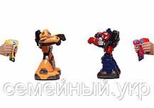 Боевые роботы трансформеры. Работает на батарейках. 2 боевых робота, 2 пульта управления, зарядка.  KD-8813, фото 3