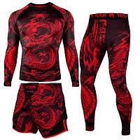 Комплект Venum Dragons Red