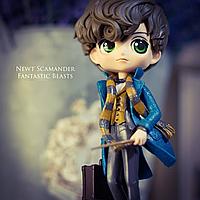 Фигурка-статуэтка Q Posket HP: Магозоолог Ньют Саламандер / Фантастические твари и где они обитают