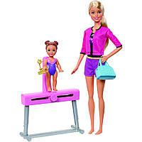 Лялька Барбі Тренер зі спортивної гімнастики Barbie Gymnastics Coach Doll
