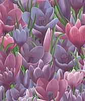 Обои дуплекс на флизелиновой основе Голландия 92 сиреневый+фиолетовый