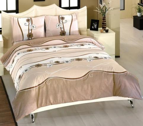 """Двуспальный комплект постельного белья """"Волна"""", фото 2"""