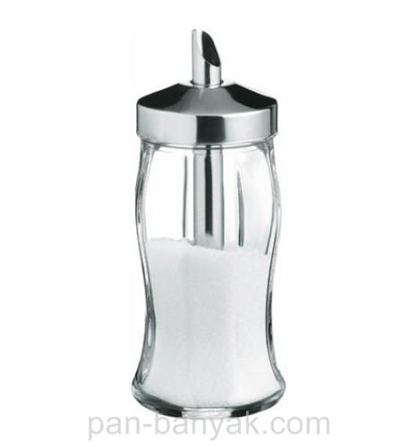 Сахарница -дозатор Pasabahce Black&White 240мл d5,5 см h13 см стекло (80078/1)