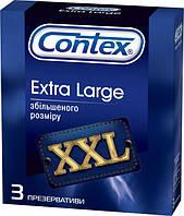 Презервативи Extra Large Contex увеличеный размер 12 уп. по 3 шт EL-1203, КОД: 1245186