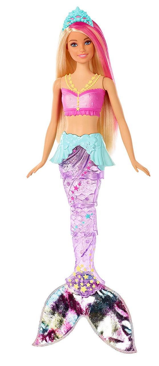 Кукла Barbie Барби Дримпопия радужная русалочка Dreamtopia Sparkle Lights Mermaid Doll Blonde Hair