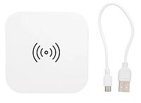 Бездротова Зарядка з 2 портами USB біла 5W, фото 1