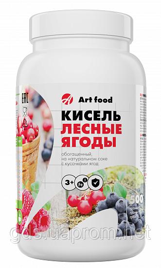 """Кисель  """"Лесная ягода с ягодами"""", с йодом и железом, 500г"""