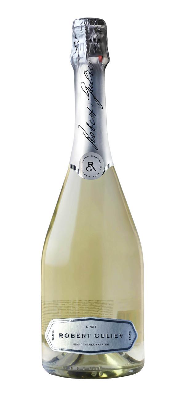 Шампанське України «Роберт Гулієв» біле брют