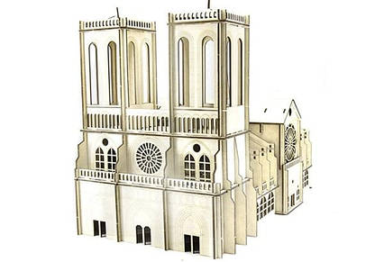 Конструктор собор Нотр Дам де Парі (Notre Dame de Pari) 202 деталі