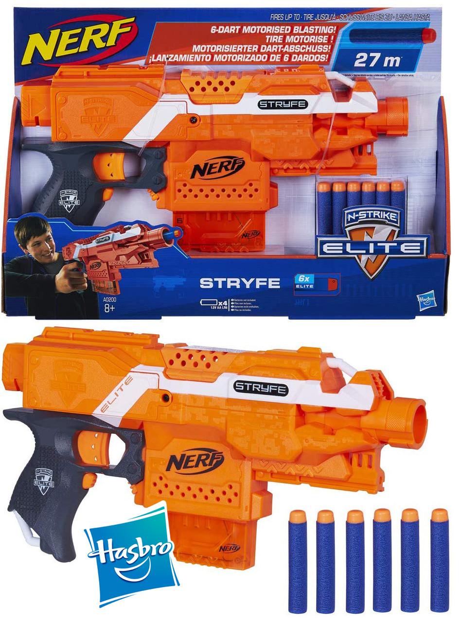 NERF Бластер Нерф Страйф  N-Strike Elite Stryfe Blaster Оригинал от HASBRO