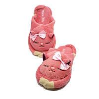 "Тапочки теплые женские PaGo ""Кошечка"" (36, 37, 38, 39, 40, 41) розовый W2019-40"