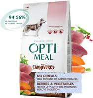 Optimeal (Оптимил) Dog Adult Grain Free беззерновой для взрослых собак всех пород Утка и овощи (10 кг)
