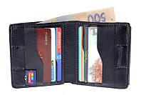 Портмоне Grande Pelle Lettera, с монетницей, синий, кожаный (537670)