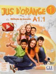 Jus D'orange 1 Livre de l'eleve + DVD