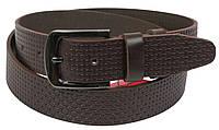 Кожаный ремень Skipper 110-130 x 3.8 см Коричневый 1118-38, КОД: 390041