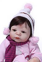 Лялька реборн дівчинка, повністю з вініл-силікону/ Лялька,пупс reborn, фото 1