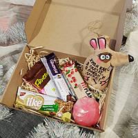 Новогодний Сувенирный Подарочный набор диетический  для диабетика. Все сладости на фруктозе.