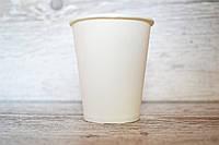 Бумажные стаканы Белые 250мл 50шт.уп КАП (1ящ/40уп/2000шт) (Кр77-78)