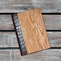 Блокноты с деревянной обложкой. Недатированный. 2020. (А00333)
