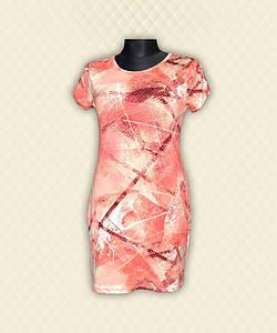 Туника-платье женское вискоза