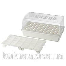 IKEA VAXER Коробка с крышкой для рассады, 42x23 cm (203.187.24)