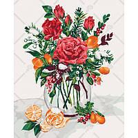 Картина по номерам Идейка Букеты 40х50 см Сладкий привкус праздника KHO3028, КОД: 1318299