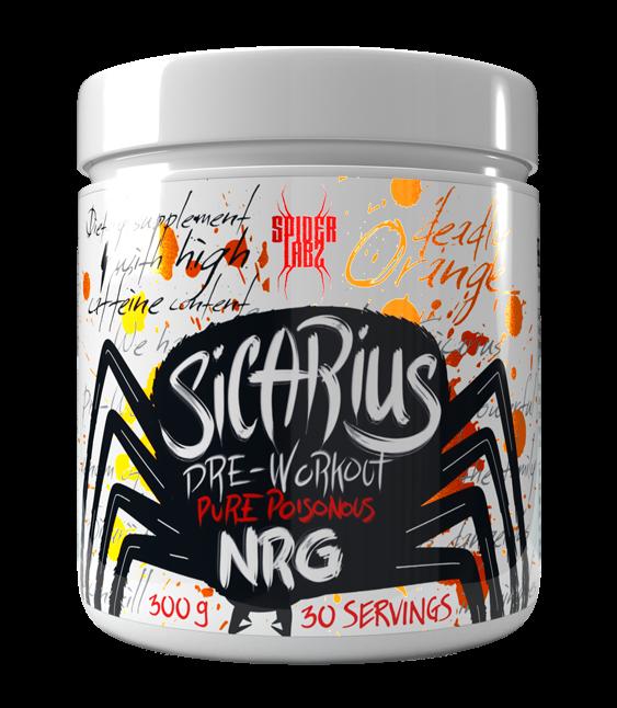 Spider Labz Sicarius Pre-workout 300g