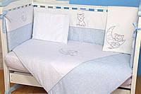 """Детский постельный комплект Veres """"Little Cat"""" 6 единиц"""