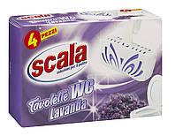 Scala WC подвески для унитаза с ароматом лаванды 34г*4шт