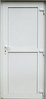 Пластиковые входные двери глухие Steko