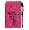 Карманный блокнот с ручкой Paspberry Hummingbird