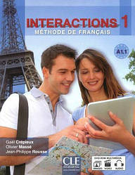 Interactions 1 Livre + Cahier d`exercices + DVD-ROM