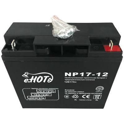 Акумуляторна батарея ENOT 12V 17AH (NP17-12) AGM, фото 2