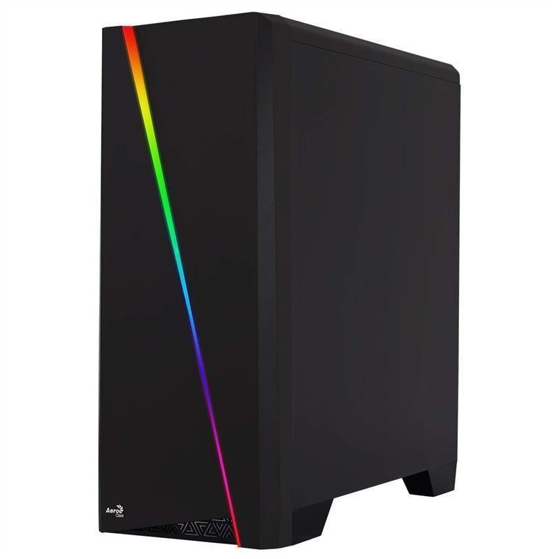 Корпус AEROCOOL PGS Cylon Window RGB Black без БП