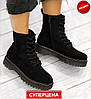 Женские Ботинки Dr.Martens  -Ботинки женские черные демисезонные Ботинки Martin - Фото