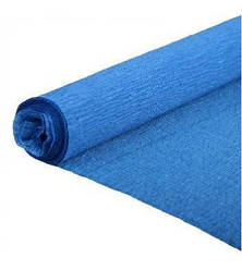 Гофробумага (креп бумага) 2.5 м Темно-синий