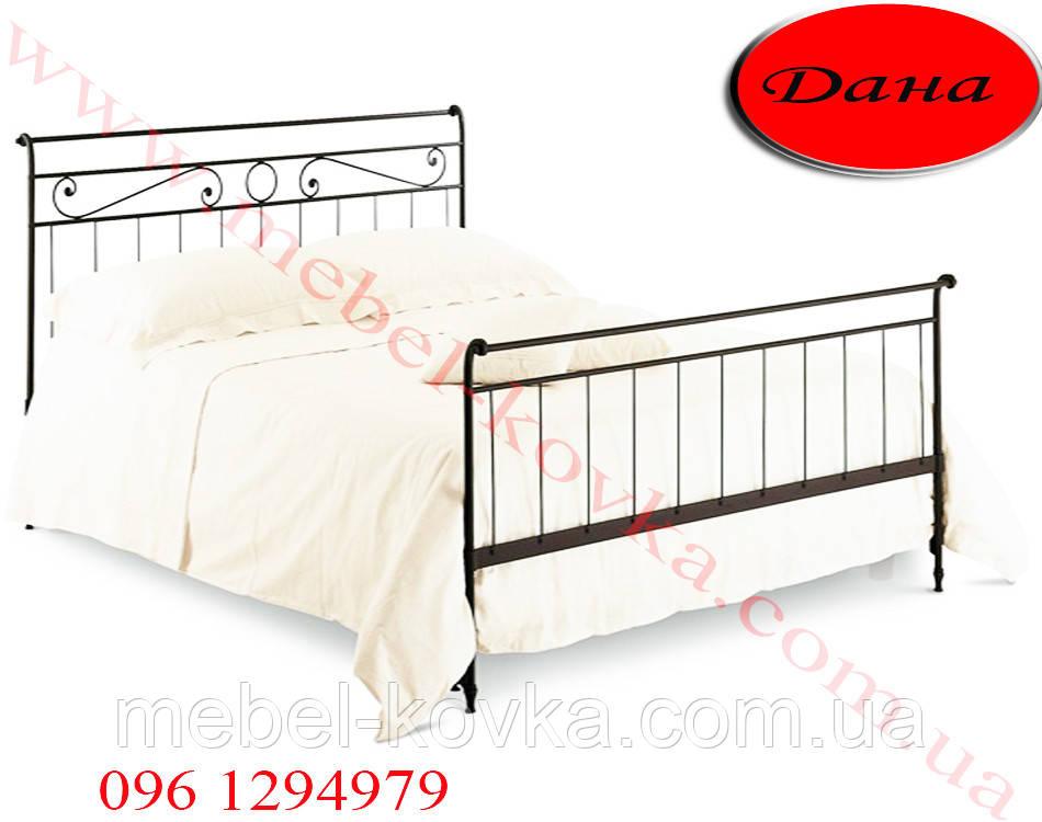 """Односпальная кованая кровать """"Дана"""""""