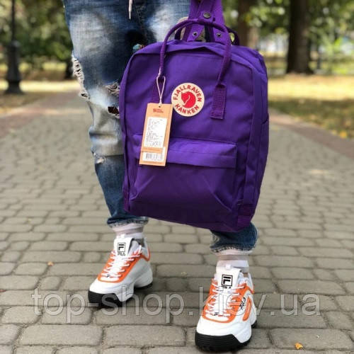 Рюкзак Fjallraven Kanken Classic фиолетовый