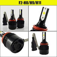 Автомобильные светодиодные LED лампы C6S H8/9/11 3200 lm 30W 6000K