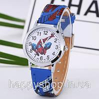 Детские наручные часы для мальчика SPIDER-MAN (синие)