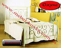 """Односпальная кованая кровать """"Джина"""""""