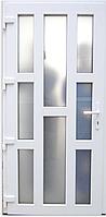 Пластикові вхідні двері Німецька фурнітура 4600 грн м кв
