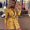 Шикарное эксклюзивное платье пиджак пайетка на подкладке 02 крм