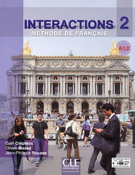 Interactions 2 Livre + Cahier d`exercices + DVD-ROM