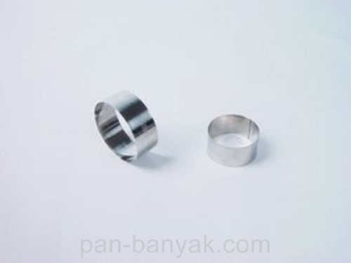 Форма кондитерская Patisse  круглая d7 см h3,5 см нержавейка (02094 P)