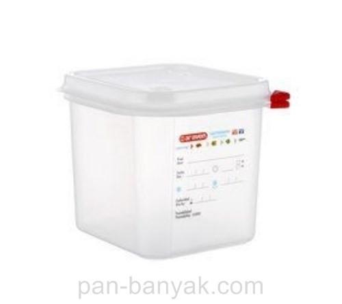 Контейнер для хранения Araven  с крышкой 1/6 17,6х16,2 см h15 см полипропилен (03025 Ar)