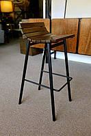 """Барный стул """"Poller"""", высокий стул, стул лофт, стул для баров, кафе, ресторанов, стул из металла"""