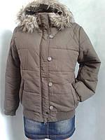 Куртка женская зимняя с капюшоном.р48.Польша.
