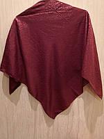 Платок батистовый с ажурным рисунком ( 95 х 95 см ), фото 1
