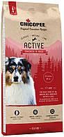 Chicopee CNL Adult Active Chicken & Rice cухой корм для собак с повышенным уровнем активности (15 кг)